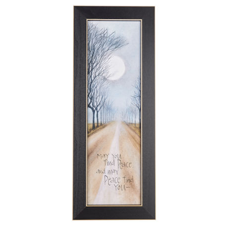 May You Find Peace Framed Wall Art