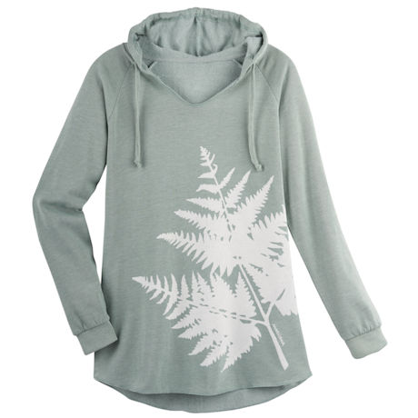 Marushka Forest Ferns Hooded Sweatshirt