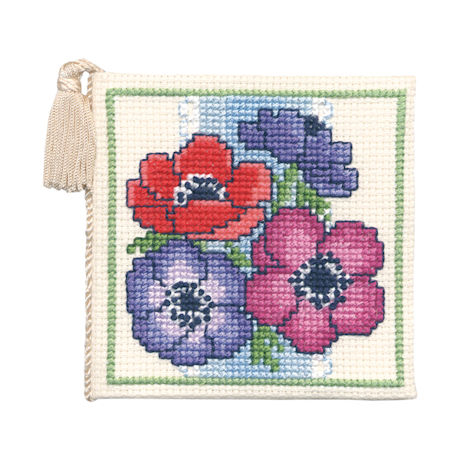 Counted Cross-Stitch Needle Cases Kits