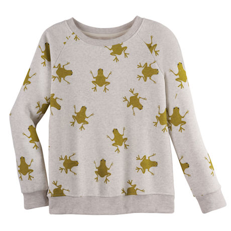 Jumping Frogs Crewneck Sweatshirt
