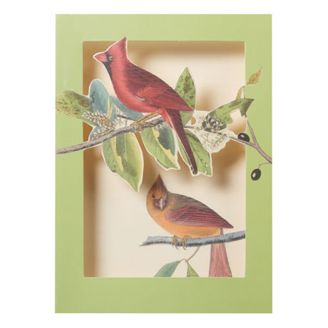 Audubon Birds Pop-Up Cards Set