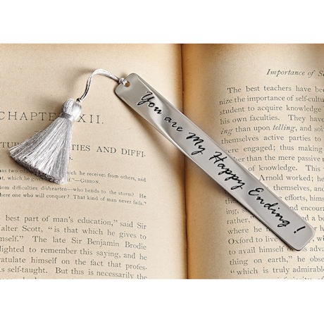 You Are My Happy Ending Bookmark