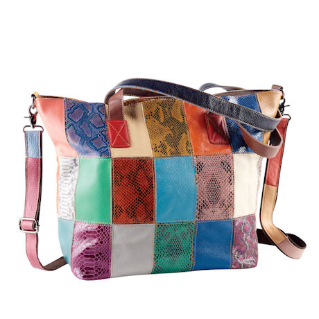 Patchwork Leather Tot