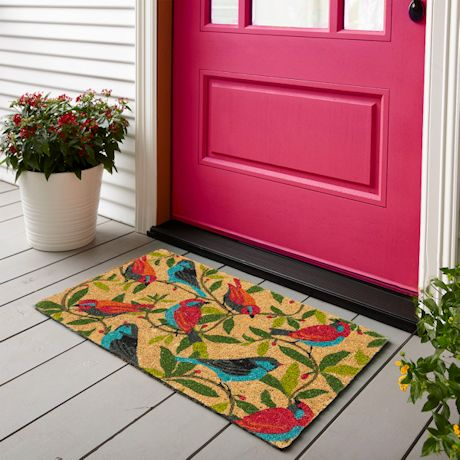 Brilliant Birds Doormat