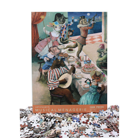 Musical Menagerie Jigsaw Puzzle