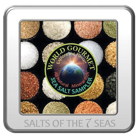 Sea Salts Sampler Tin