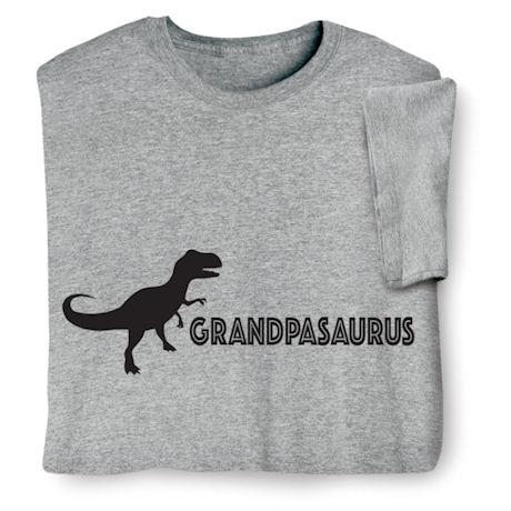 Grandpasaurus Shirts