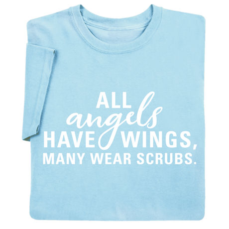 All Angels Have Wings Shirts