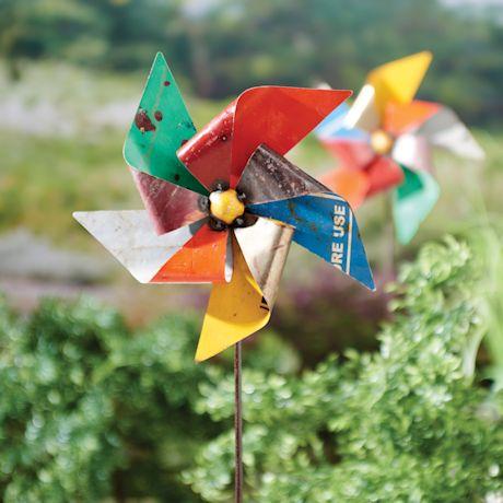 Pinwheel Garden Stake