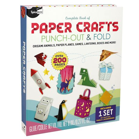 Complete Book of Paper Crafts