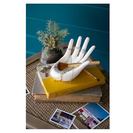 Ceramic Hand Jewelry Holder