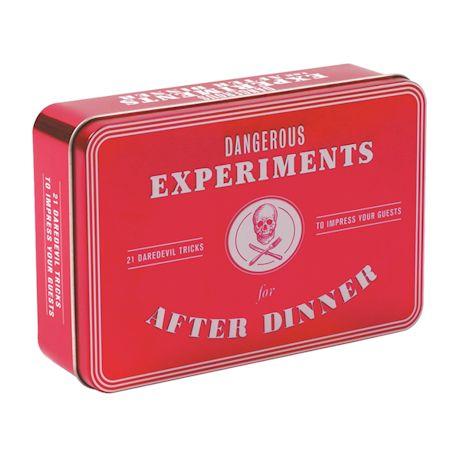 After Dinner Experiment Card Set - Dangerous Experiments