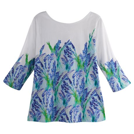 Delphiniums Tunic