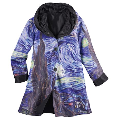 Reversible Fine Art Raincoat