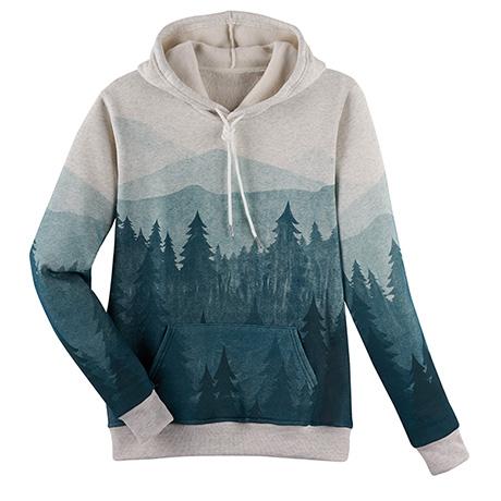 Misty Mountains Hooded Sweatshirt