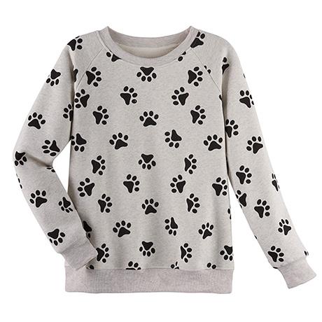Paws Print Sweatshirt