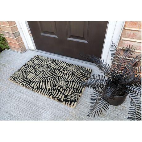 Zebra Herd Doormat