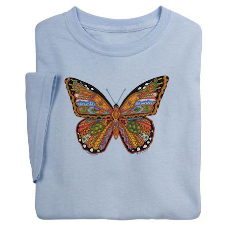Sue Coccia Monarch Butterfly Tee