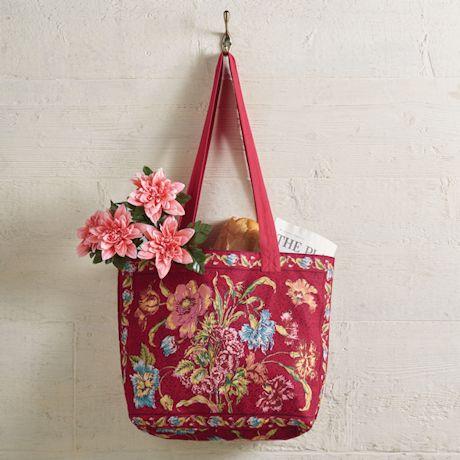 April Cornell Floral Print Market Bags