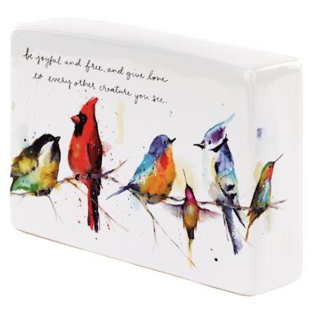 Little Birds Box Décor