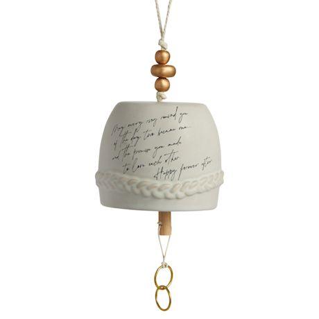 Ceramic Wedding Bell