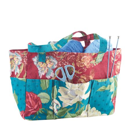 April Cornell Sewing Tote with Accessories