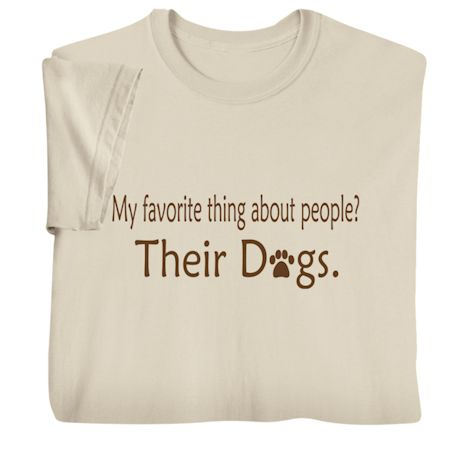 My Favorite Thing About People Shirts