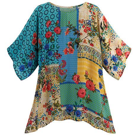 Tuscan Floral Tunic