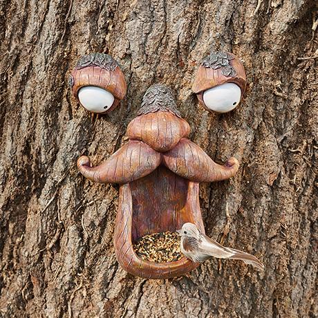Mr. Moustache Bird Feeder