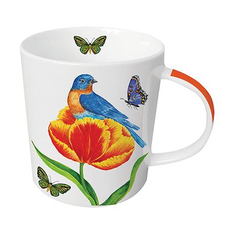 Birds and Flowers Mug