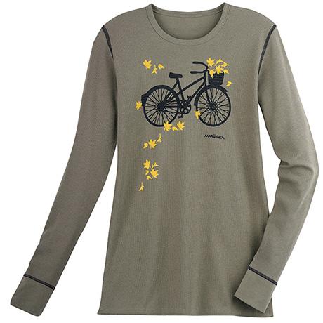 Marushka Autumn Bike Ride Thermal Tee