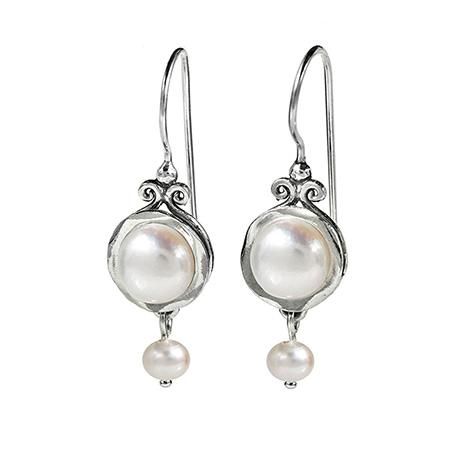 Sirena Pearl Earrings
