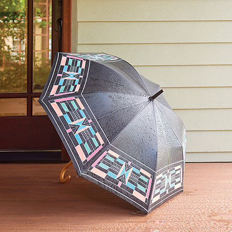 Color-Changing Prairie Style Umbrella