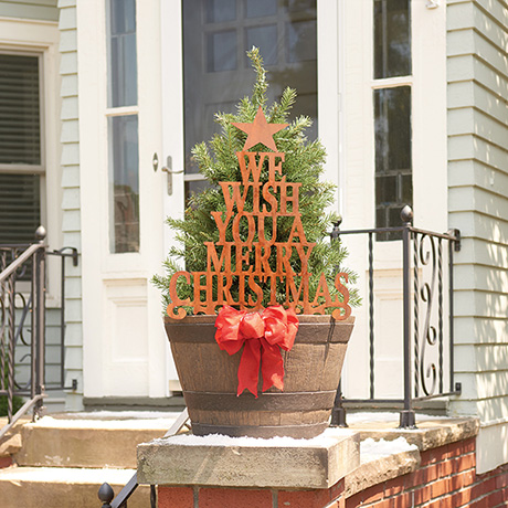 We Wish You a Merry Christmas Yard Sign