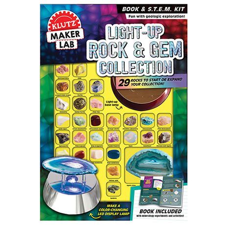 Light-Up Rock and Gem Collection