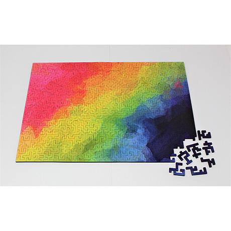 Joyful Geometric Wooden Puzzle