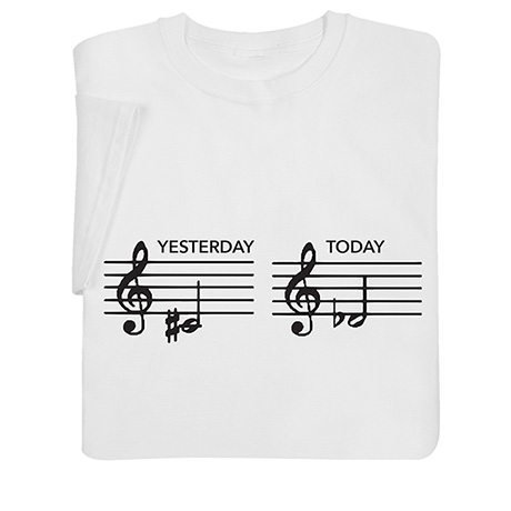 Yesterday and Today Shirts