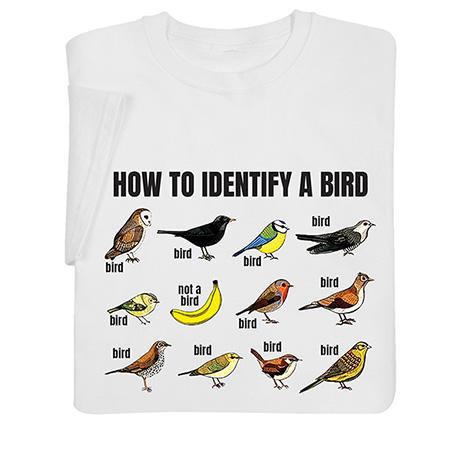 How to Identify a Bird Shirts