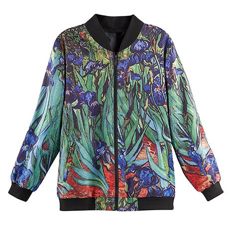 Fine Art Bomber Jacket