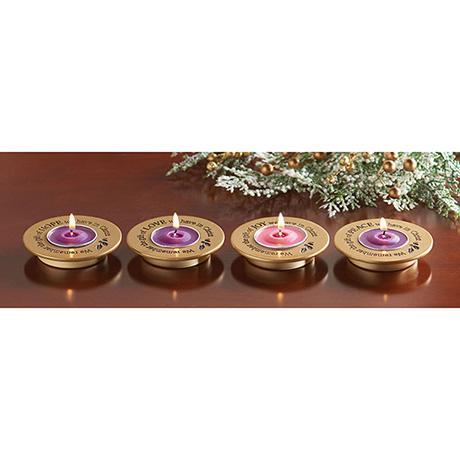Advent Tea Light Holders Set