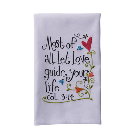Bible Verses Hand Towels