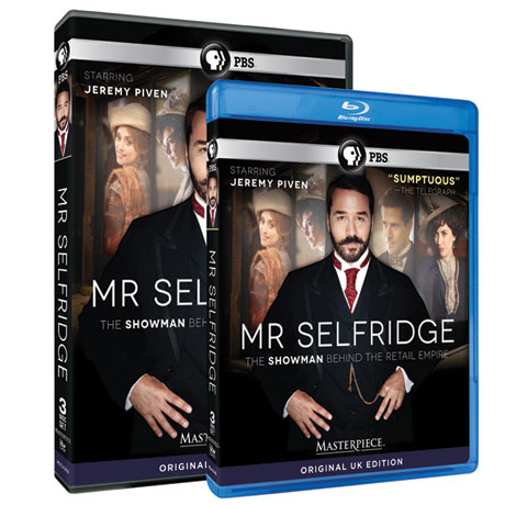 Mr. Selfridge Season 1 DVD or Blu-ray