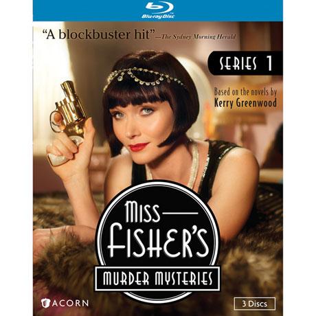 Miss Fisher's Murder Mysteries Series 1 DVD & Blu-ray