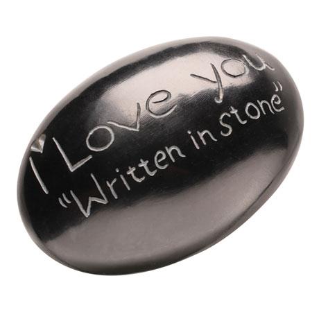 I Love You Written in Stone