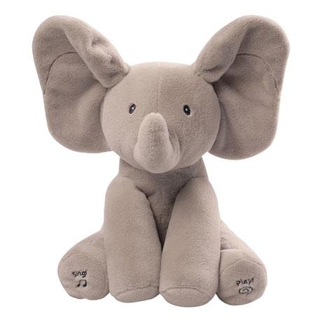Animated Flappy The Elephant Talking and Singing Plush