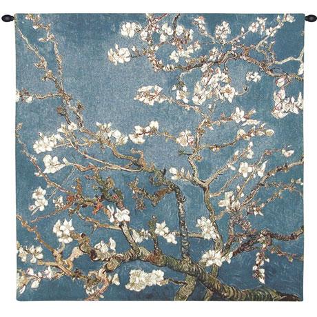 Van Gogh Blossoming Almond Tree Tapestry