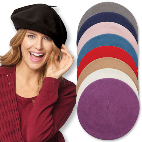 100% Wool Basque Beret