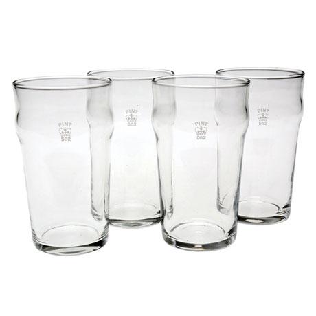 Authentic British Pub Glasses - Full Pint