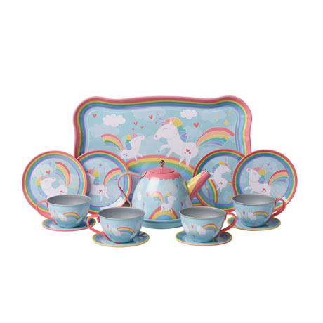 Unicorn Tiny Tin Tea Set