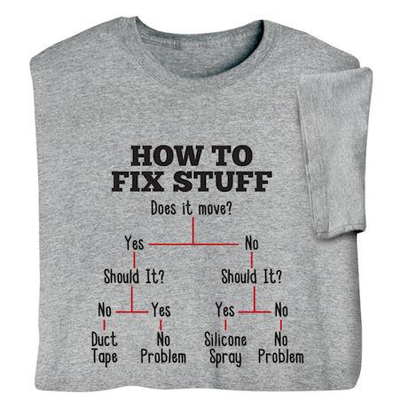 How to Fix Stuff Shirts